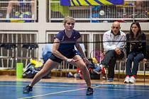 Špičkový juniorský badminton viděli diváci v Orlové.