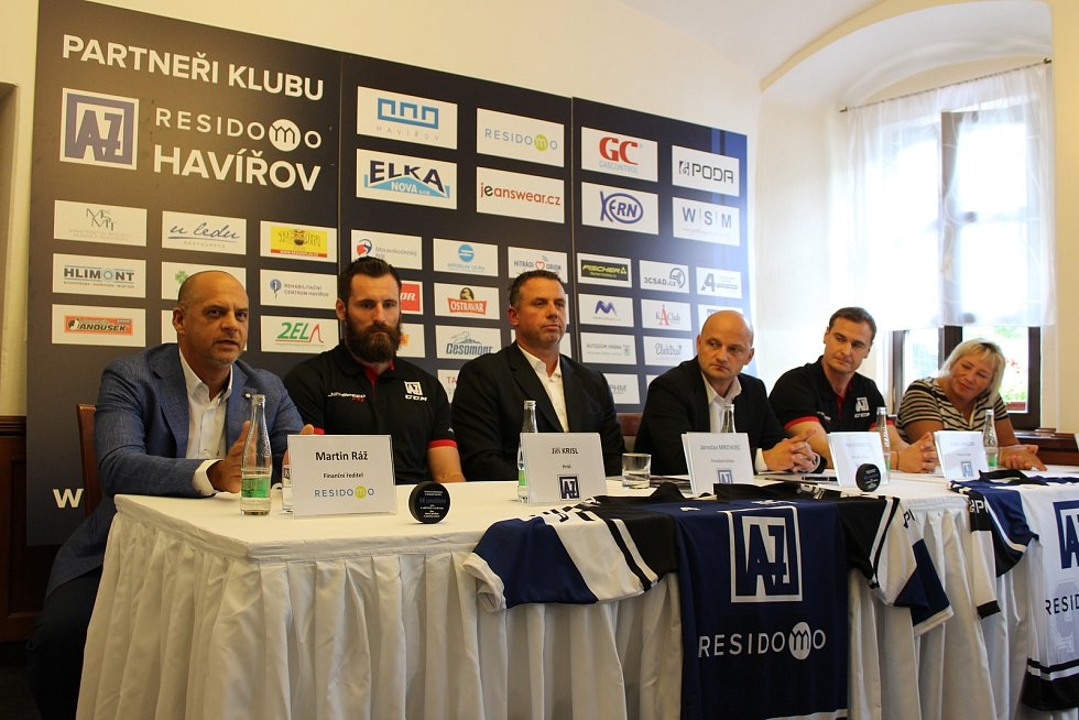 Havířovský hokejový klub nese nový název AZ RESIDOMO HAVÍŘOV.
