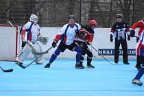 Hokejbalisté na úvod roku 2019 zavítali na sever Čech.