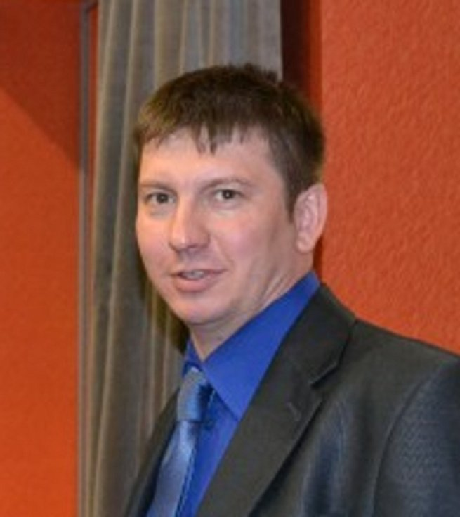 Předseda odborové organizace OKD Jiří Waloszek.