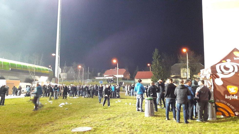 MFK Karviná - FC Baník Ostrava.