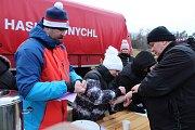 V Bohumíně se konal už po šesté Novoroční šunychelský ponor. Přijelo také mnoho otužilců z Polska.