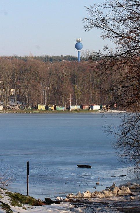 Těrlicko, pohled na přehradu