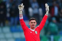 Fotbalový brankář Patrik Le Giang sbíral v dresu MFK první ligové starty, a tak se v neděli do Karviné těšil.