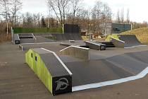 Bohumínský skatepark.