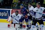 Havířovští hokejisté (v bílém) prohráli v Přerově.