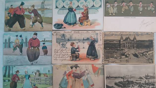 Ze sbírky tisíců pohlednic Lucie Humenské z Karviné.