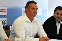 Prezident havířovského klubu Jaroslav Mrowiec.