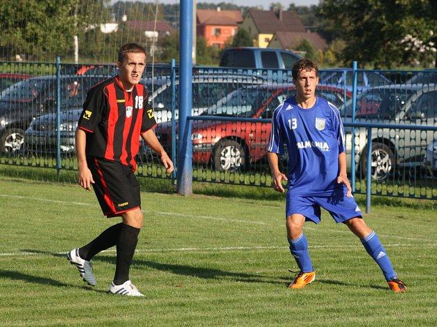 Petrovičtí fotbalisté odčinili remízu s Krnovem a uspěli na Valašsku.