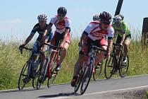 Slezský pohár amatérských cyklistů pokračoval dalším závodem v Suchdole nad Odrou.