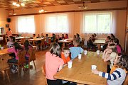 Farní tábor v podhůří Beskyd nabídl dětem hry, soutěže i duchovně zaměřený program.