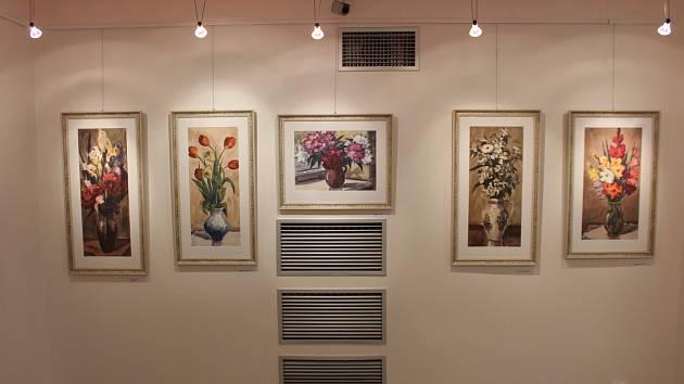 V Mánesově síni MěDK Karviná je k vidění retrospektiva děl malíře Edgara Barana při příležitosti jeho nedožitých 80. narozenin.