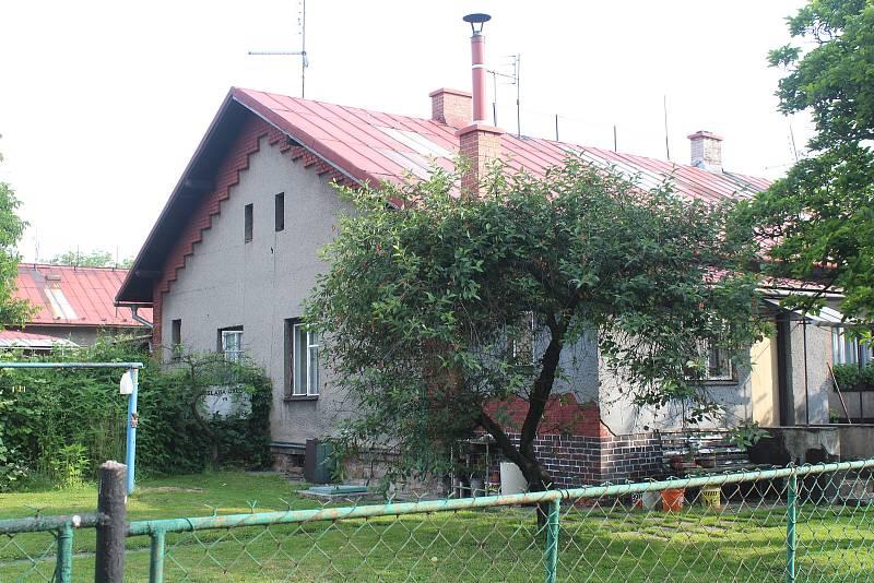 Orlová-Město. Zimný důl.