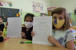 Jaká vysvědčení budou mít děti v pololetí školního roku?