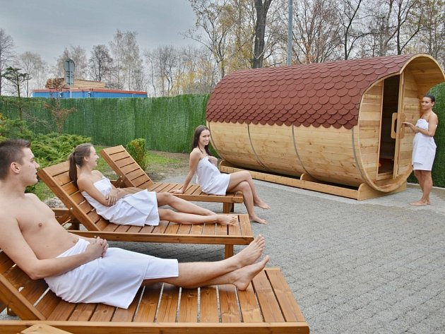 Sauna v Bohumíně.