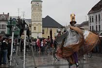 Hornické slavnosti v Karviné.