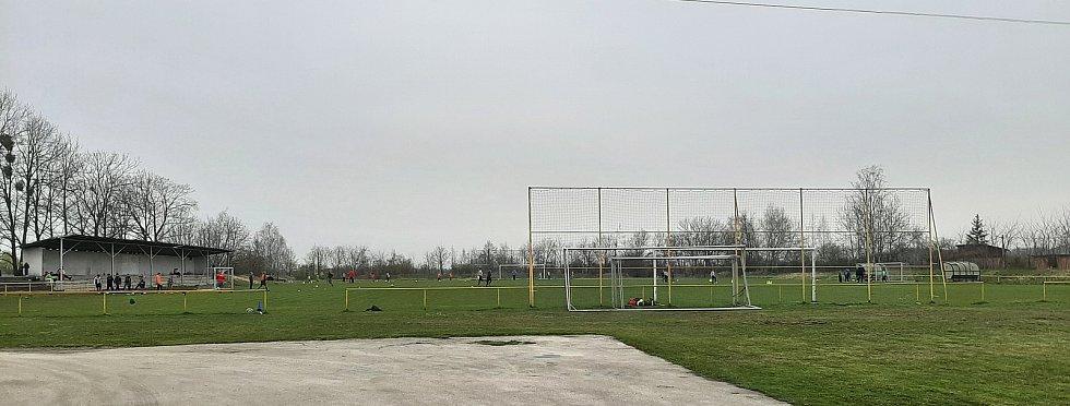 Petřvald. Fotbalový areál HEPO Petřvald.