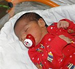 Gabriel Lakatos se narodil 25. prosince paní Angelice Lakatošové z Orlové. Porodní váha chlapečka byla 3600 g a míra 50 cm.