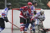 Hokejbalisté Karviné znovu vynulovali střelce soupeře.