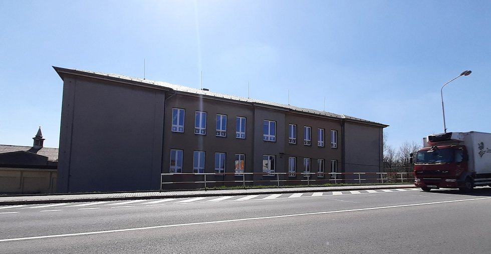Orlová-Poruba. Zvláštní škola v Porubě.