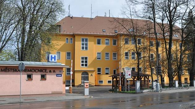 Městská nemocnice v Bohumíně.