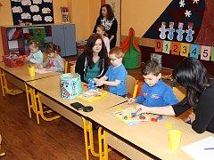 Zápis dětí do první třídy.