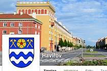 Znak města Havířova na stránkách Facebooku.