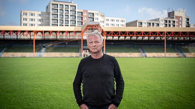 Fotbalová legenda Havířova Bronislav Šimša.