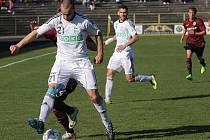 Vladimír Mišinský zažil během chvilky opačné pocity. Nejprve vsítil rozhodující gól a hned poté byl vyloučen.
