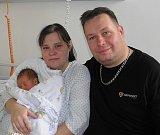 Davídek Pittner se narodil 22. ledna mamince Šárce Pittnerové z Rychvaldu. Po narození chlapeček vážil 3240 g a měřil 49 cm.