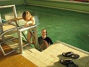 Krytý bazén Delfínek v havířovské Městské sportovní hale.