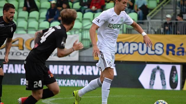 Jedním z mladíků, kteří dostali šanci v poháru, byl Ukrajinec Ivan Želizko.