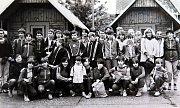 Školní výlet v červnu 1986 pod patronací Dolu Dukla.