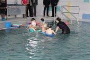 Slavnostní zahájení provozu krytého bazénu Delfínek po jeho rekonstrukci.