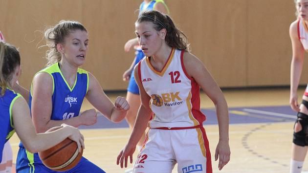Basketbalistky Havířova čeká ve čtvrtek svátek. Přijede Ostrava.