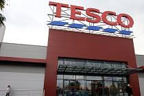 Supermarket TESCO. Ilustrační foto.