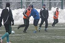 Fotbalová příprava Karviné se chýlí svému konci.