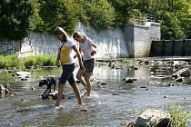 V řekách nyní moc vody není. Ilustrační foto