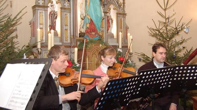 Koncert v kopytovské kapli