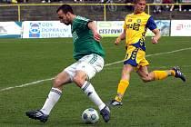 Fotbalisté Karviné opět nevyhráli, mimo jiné proto, že Vladimír Mišinský opět neproměnil tutovku.