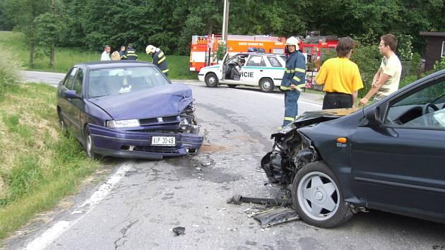 Nehoda na Mezidolí