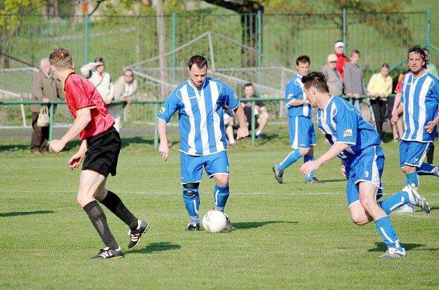 Bohumín odehrál po Albrechticích (viz. snímek) další derby, tentokrát proti Českému Těšínu.