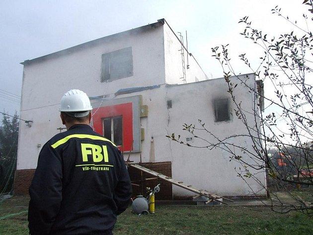 Požární experiment v Bohumíně