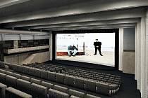 Zamýšlená podoba havířovského kina Centrum