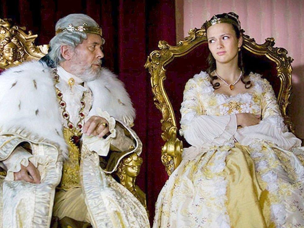 Havířovanka Petra Tenorová hraje princeznu po boku krále Josefa Abrháma.
