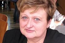 Blanka Blochová z Informačního a poradenského střediska pro volbu povolání v Karviné.