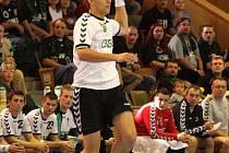 Ján Faith ve výskoku - oblíbená to činnost slovenského reprezentanta.