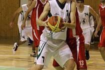 Jindřich Wisla byl nejlepším hráčem posledního utkání sezony karvinských basketbalistů.
