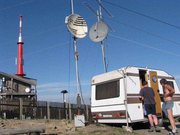 Radioamatéři na Lysé hoře