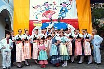 Mali Błędowianie na festivalu v lázních Iwonicz-Zdroj